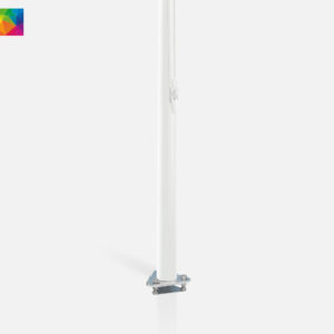 Polyester vlaggenmast anti diefstal 10 meter